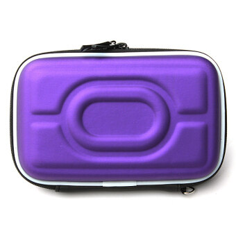 "Autoleader 2.5""Hard Disk Drive External Cover HDD Protector Hard Drive Pouch Bag Carry Case PURPLE (Intl)"