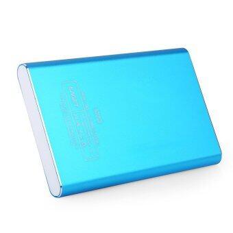 Eaget G90 Portable USB 3.0 External Hard Drive HDD Metal Encryption (BLUE)