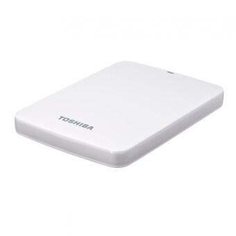 Toshiba Canvio Connect Super Speed USB 3.0 500GB External Hard Drive (White)