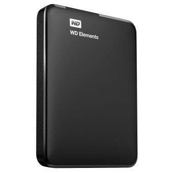 "WD Elements Portable Slim 2.5"" Portable Hard Drive 500GB - Black"