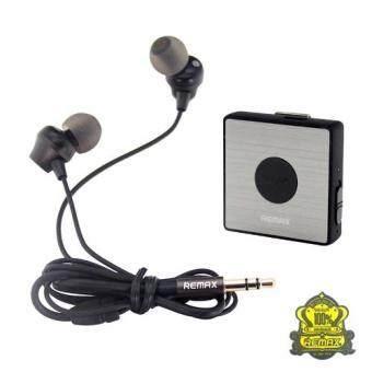 Remax รุ่น RB-S3 Sport Clip-On Bluetooth Headset พร้อมหูฟัง In-Ear (Black) S3