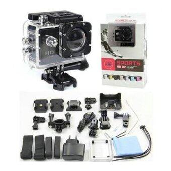 SJ4000 Car Cam Sports DV Action Waterproof Camera (Black ) - intl