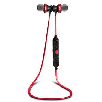 AWEI A980BL Wireless Sports Earphone For Call And Music (Black/Red)