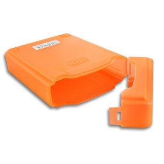 3.5'' IDE SATA HDD Hard Drive Disk Protection Plastic Storage Box Case Enclosure Orange