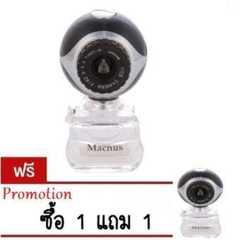 WEB CAMERA MACNUS รุ่น KZS-061 (BLACK)