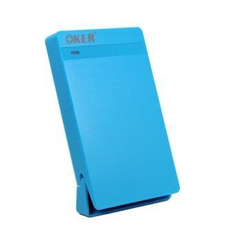 OKER USB 2.0 SATA BOX External Hard Drive รุ่น ST-2526 (blue)