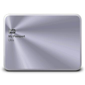WD MY PASSPORT ULTRA 2TB Metal Edition รุ่น WDBEZW0020BSL - Silver