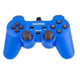 Macnus USB GAMEPAD Double shock controller AMNJ-2009 - Blue