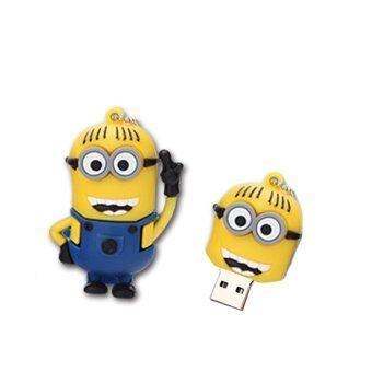 64 GB USB drive U disk storage Notebook PC Mobile dual-use cutelittle yellow cartoon creative waterproof mini personality - intl