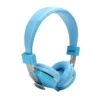 Coconie Headphones Earphone Headset Stereo Wired with Mic forSmartphone MP34 Sky Blue Free shipping
