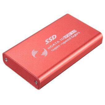 S & F 1.8inch mSATA USB 3.0 External Enclosure Converter SSD Case Caddy Box XP Win 7 8