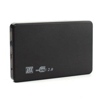 BUYINCOINS ไฮสปีดดิสก์ไดรฟ์แบบพกพาฮาร์ดดิสก์ไดรฟ์ USB 2.0 SATA 2.5 500จิกะไบต์ปิดฝากล่อง