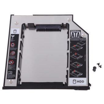 SATA 2nd HDD Hard Drive Caddy for Dell E Series E6400 E6500 E6410 E6510 (Grey/Black)