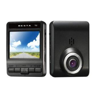 BESTA Car DVR กล้องติดรถยนต์ รุ่น DVR CR-T02 FullHD (Black) (image 0)