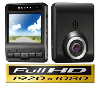 BESTA Car DVR กล้องติดรถยนต์ รุ่น DVR CR-T02 FullHD (Black) (image 1)