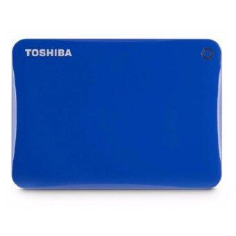 Toshiba Canvio Connect II Portable HDD 1TB (V8) – Liquid Blue