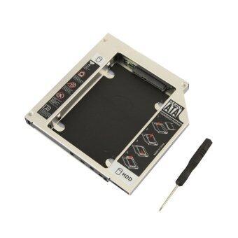 9.5mm Drive Bay Caddy Case Aluminum 2.5 inch Internal Hard Drive HDD/SSD SATA3