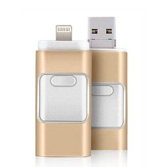 OTG i-flash drive 3 in 1 OTG USB Flash Drive 32GB For iphone 5/5s/6/6s/plus Mirco otg for ipad / android - Intl