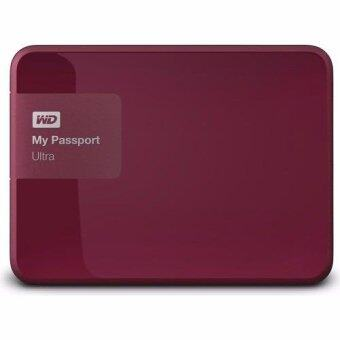 Western HDD 2TB External Passport Ultra USB 3.0 (WDBBKD0020BBY) Wild Berry