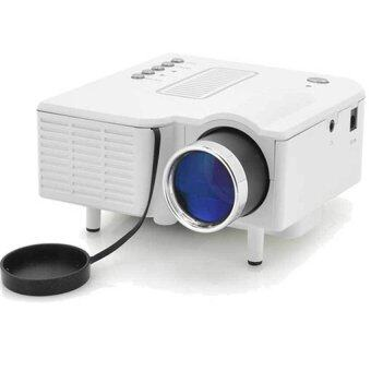 9FINAL LED Projetor UC28+ LED High Definition Support 1080P Multimedia Home Mini Projector (White)