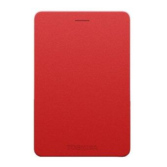 Toshiba Canvio Alumy 2TB External Hard Drive (Red)