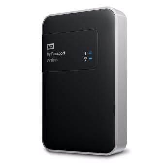 WD My Passport Wireless 500GB (WDBLJT5000ABK-PESN) Wi-Fi Mobile Storage