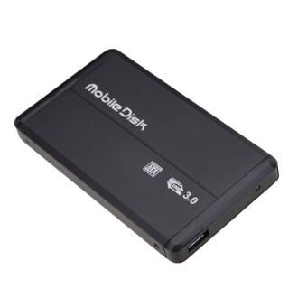 """2.5 """" USB 3.0 SATA HD External Hard Drive Box(Black) - intl"""