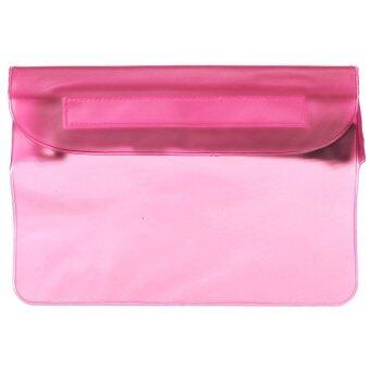 Autoleader Waterproof Waist Bag Underwater Sport Pouch Dry Case Fanny Pack Pocket Wallet (Pink) - Intl