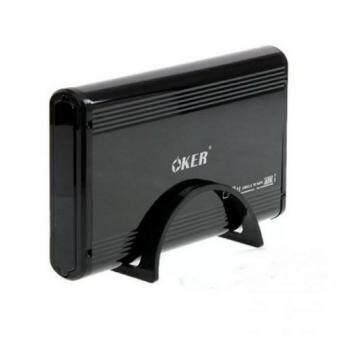 """กล่อง OKER Box External Hard Drive Sata 3.5"""" USB รุ่น ST-8232 (Black)"""