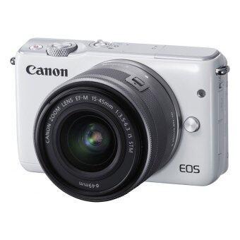 Canon EOS M10 เลนส์ EF-M15-45mm & EF-M22mm White + SD 8 GB (image 1)