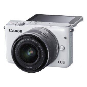 Canon EOS M10 เลนส์ EF-M15-45mm & EF-M22mm White + SD 8 GB (image 2)