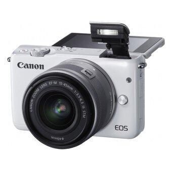 Canon EOS M10 เลนส์ EF-M15-45mm & EF-M22mm White + SD 8 GB (image 4)