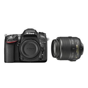 (IMPORT) Nikon D7100 with 18-55mm VR Lens Kit DSLR Black