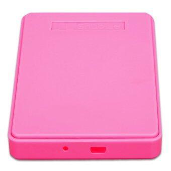"Enclosure Case Box for 1TB USB 2.5"" SATA Hard Disk (Pink) - Intl"
