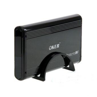 "OKER Box External Hard Drive Sata 3.5"" USB รุ่น ST-8232 (Black)"