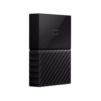 WD HDD - HARD DISK EXTERNAL 2.5 4TB MY PASSPORT 2017 BLACK (WDBYFT0040BBK)
