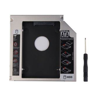 New Universal 12.7mm PATA IDE to SATA 2nd HDD Hard Drive Disk Caddy Module - Intl