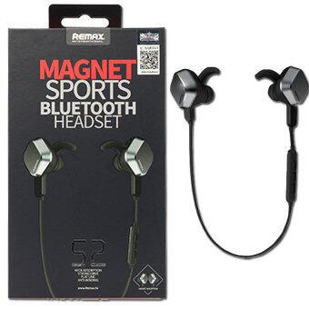 Remax Headset Magnet Sports Bluetooth 4.1 รุ่นRM-S2 (Black)