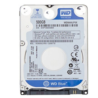 Western Hard Disk NoteBookSATA-III 500GB (Blue)
