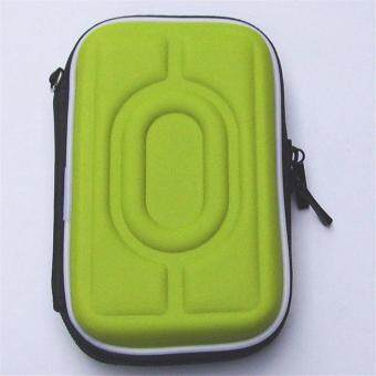 2.5 Inch Universal Hot-pressing External Hard Disk Drive USB Cable Case HDD Protector Hard Drive Cover Pouch Carry Bag For PC Tablet Green - intl
