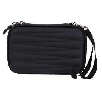 Hard EVA PU Carrying Case Bag for 2.5 inch Portable HDD (Black) - intl