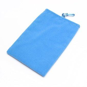 S & F Soft Carry Case Cover Pouch Protection Inner Bag for 2.5?? USB Hard Disk Drive (Blue)