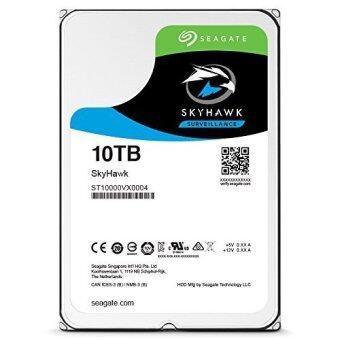 Seagate SkyHawk 10TB Surveillance Hard Drive - SATA 6Gb/s 256MB Cache 3.5-Inch Internal Drive - intl