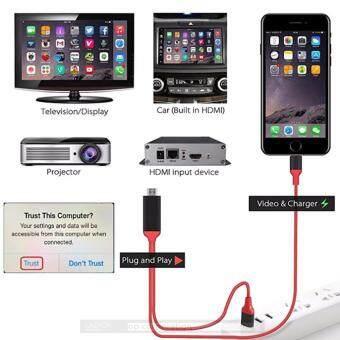 Iphone to HDTV Cable สายแปลง Iphone เป็น HDMI
