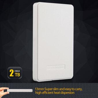 USB 2.0 ประจำคอกนอกเคสสำหรับใช้จ่าย € SATA 2.5³ ฮาร์ดดิสก์ไดรฟ์ 2TB ขาวอังกฤษ