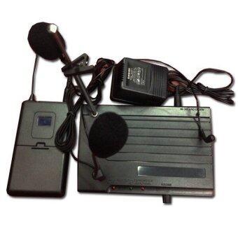 LTM ไมค์โครโฟนหนีบปก ครอบหัว SH-200.(Black)