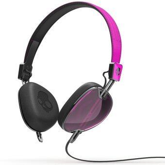 Skullcandy (Over-Ear) Navigator Mic 3 หูฟัง หูฟังแบบครอบหู PINK/BLACK