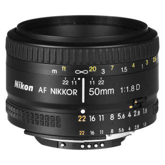 (IMPORT) Nikon AF 50mm f/1.8D f1.8D Lens Black