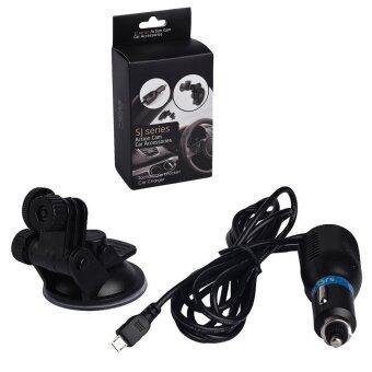 CarHolder ชุดติดรถ สำหรับ SJCAM GoPro Yi Camera SJ4000 SJ5000 M10 และ M20