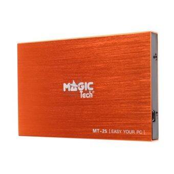 Magictech Enclosure 2.5 SATA รุ่น MT-25 (Orange)